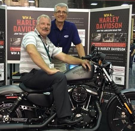 Sonic Solutions Congratulates Kevin Callahan, Labelexpo Americas Winner of Harley-Davidson